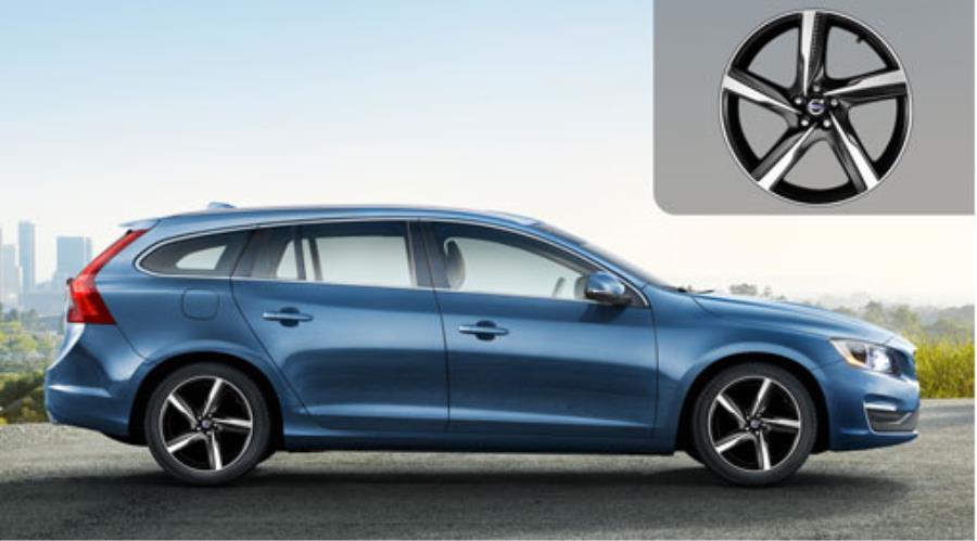 2017 Volvo S60 Aluminium rim. Aluminium rim Ixion II 8 x ...