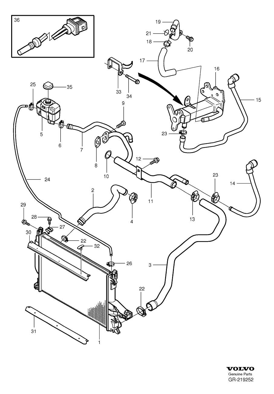 Volvo Xc60 Engine Diagram