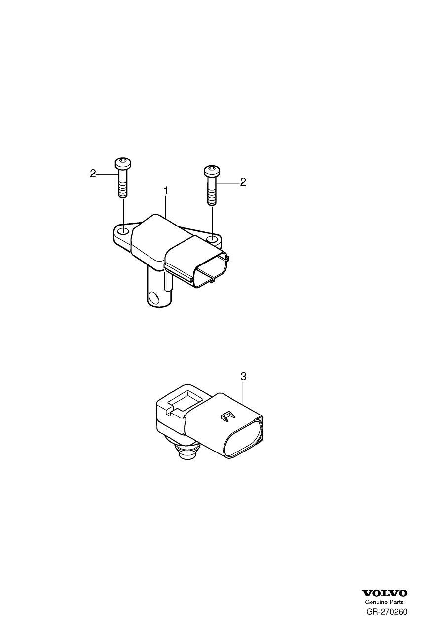 Volvo Xc60 Manifold Absolute Pressure Sensor  Regulating