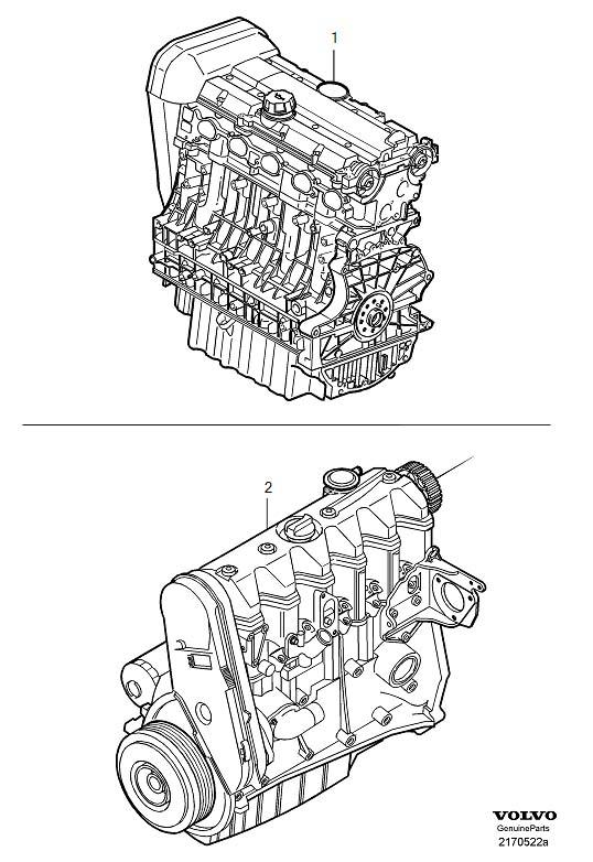 1998 Volvo S70 Engine Complete